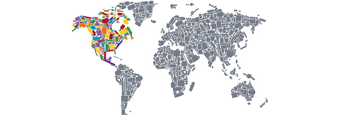 Hillbrush Distribution Map